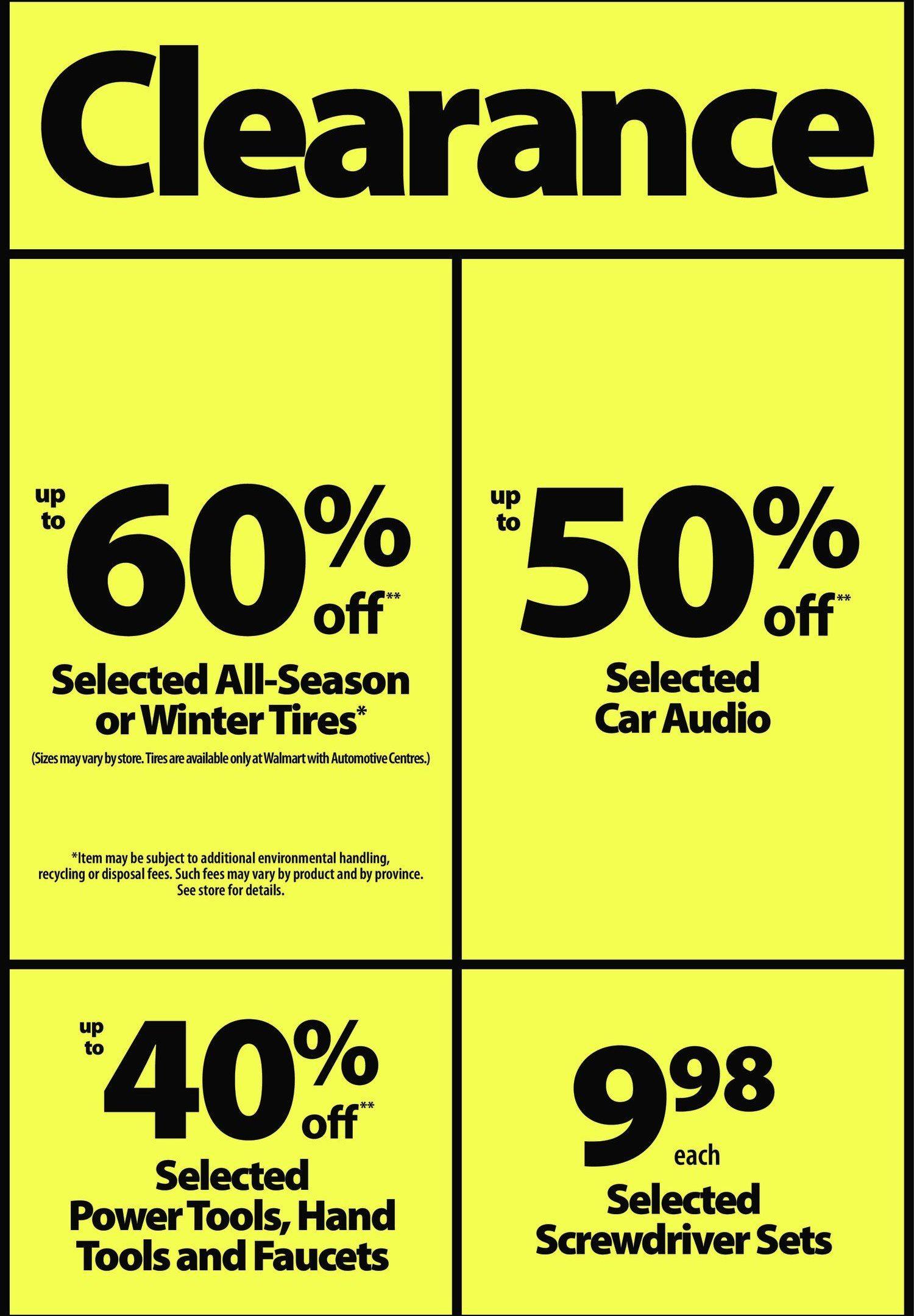 Walmart Weekly Flyer - Boxing Week - Dec 26 – 31