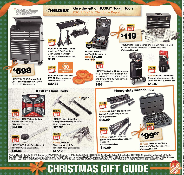Home Depot Weekly Flyer Weekly Christmas Savings Central Nov 5