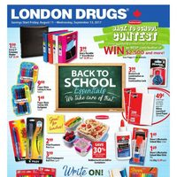 London Drugs - Back To School Essentials Flyer