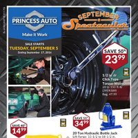 - September Spectacular Flyer
