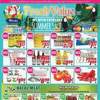 - Weekly Specials - Summer Sale Flyer