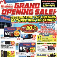 - Ontario & Calgary Only - Grand Opening Sale! Flyer