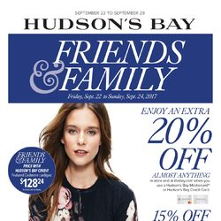 The Bay - Weekly - Friends & Family Flyer