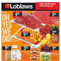 Loblaws - Weekly - The Oh Yes We Did! Event Flyer