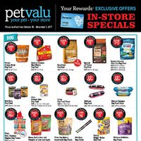 Pet Valu - Exlusive Offers - In-Store Specials Flyer