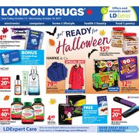London Drugs - General - Get Ready For Halloween Flyer