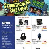 NCIX - Weekly - Spooktacular Sale Event Flyer