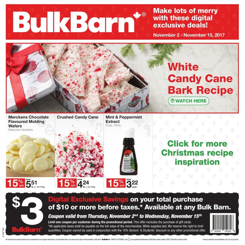 bulk barn weekly flyer 2 weeks of savings nov 2 \u2013 15bulk barn weekly flyer 2 weeks of savings nov 2 \u2013 15 redflagdeals com
