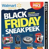 Walmart - Supercentre - Black Friday 2017 Canada Sneak Peek  Flyer