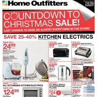 Home Outfitters - Weekly - Countdown to Christmas Sale! Flyer