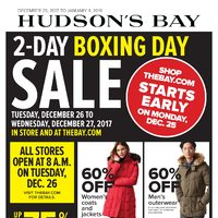 - 2-Day Boxing Day Sale & Extended Boxing Week Sale Flyer