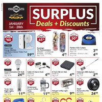 Princess Auto - Surplus Deals + Discounts Flyer