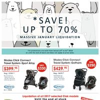 Bo Bebe - Massive January Liquidation - Save Up to 70% Flyer