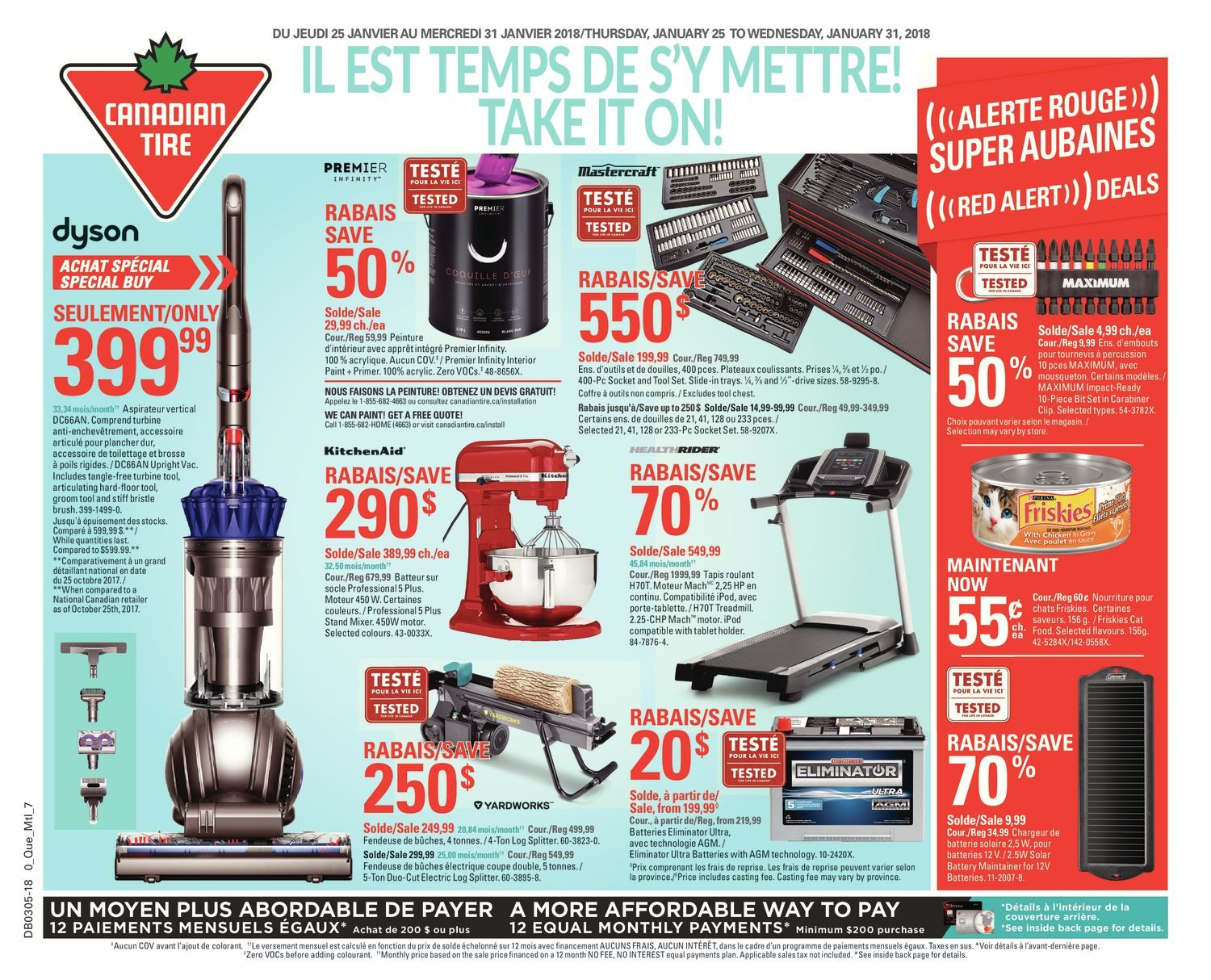 Canadian Tire Weekly Flyer - Weekly - Take It On! - Jan 25 – 31 ...