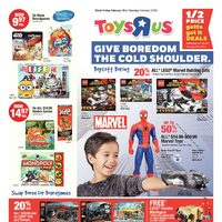 Toys R Us - Weekly - Give Boredom The Cold Shoulder Flyer