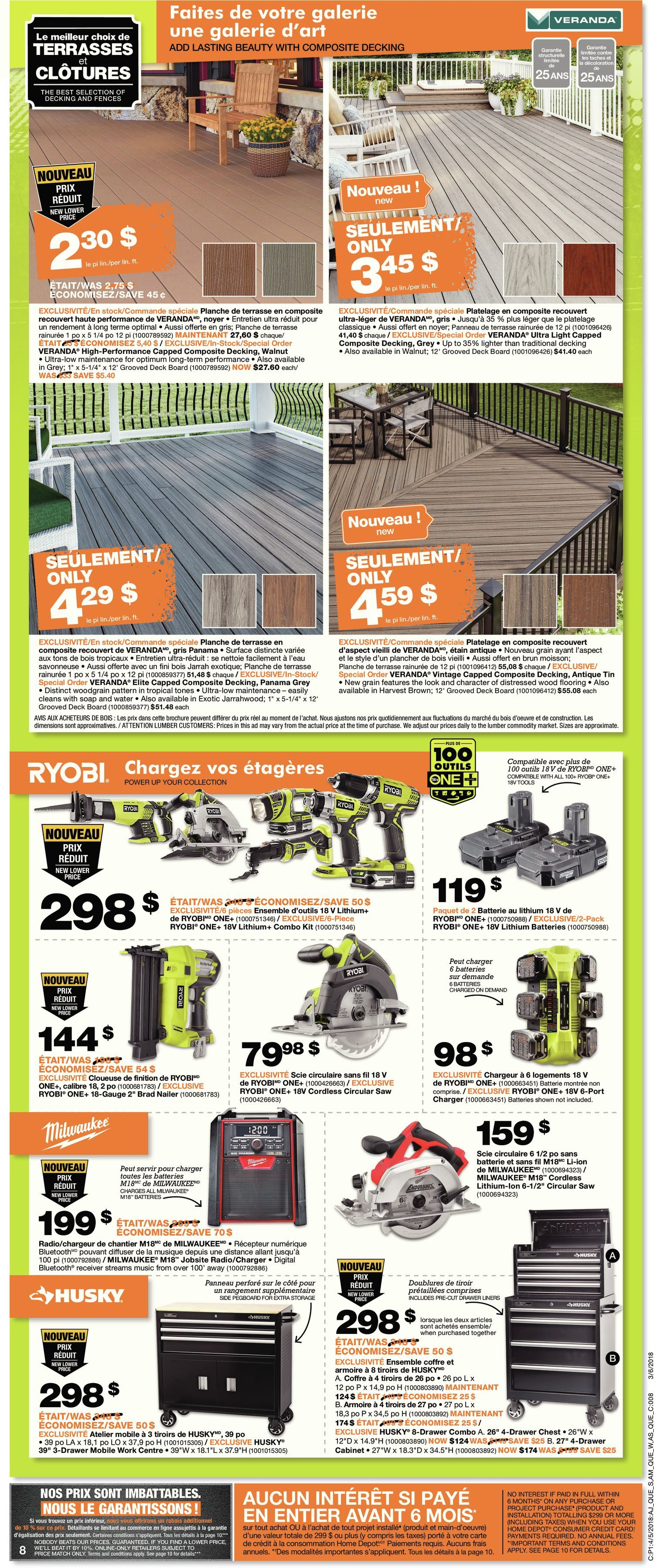 Home Depot Weekly Flyer Weekly Orange Tag Appliance Event Apr