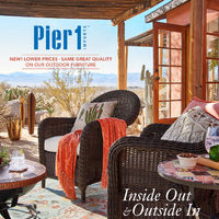 Pier1 Import - Monthly Book - Inside Out & Outside In Flyer