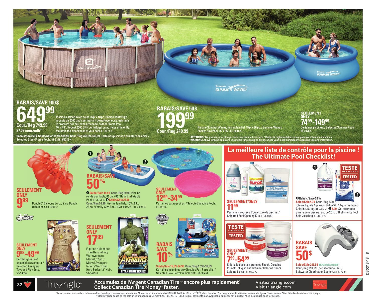 Canadian Tire Weekly Flyer Weekly Happy Spring Apr 26 May 2