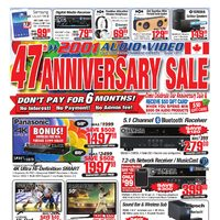 2001 Audio Video - Weekly - 47th Anniversary Sale Flyer
