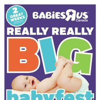 Babies R Us - 2 Great Weeks! - Really Really Big Babyfest Flyer