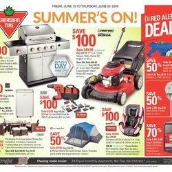 Canadian Tire - Weekly - Summer's On Flyer
