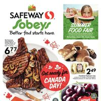 Sobeys - Weekly - Get Ready For Canada Day! Flyer