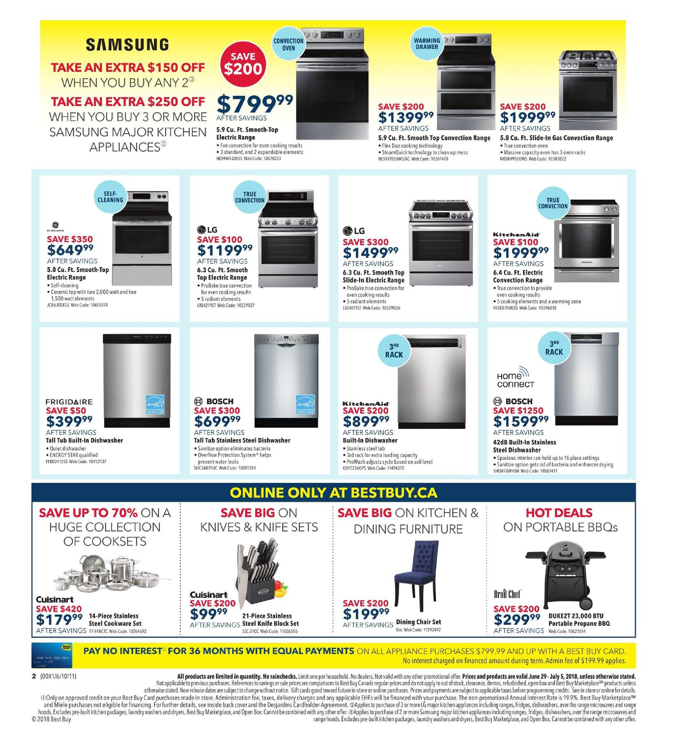 6e71490ed3 Best Buy Weekly Flyer - Weekly - Boxing Day In July Sale - Jun 29 – Jul 5 -  RedFlagDeals.com