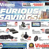 Visions Electronics - Weekly - Furious Savings Flyer