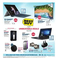Best Buy - Weekly - Get Unbeatable Deals Now Flyer