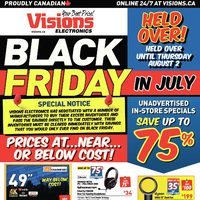 - Weekly - Black Friday In July Flyer