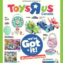 Toys R Us - Weekly - We've Got It! Flyer