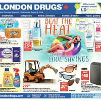 - 6 Days of Savings - Beat The Heat With Cool Savings Flyer