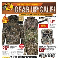 Bass Pro Shops - Vaughan Location Only - Gear Up Sale! Flyer