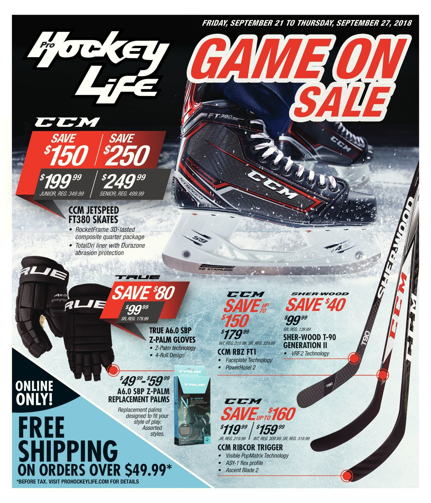 2b98e148edc Pro Hockey Life Weekly Flyer - Game On Sale - Sep 21 – 27 - RedFlagDeals.com