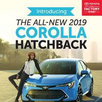 Toyota Canada - 2018 Factory Event Flyer