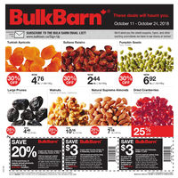 Bulk Barn - 2 Weeks of Savings - These Deals Will Haunt You Flyer