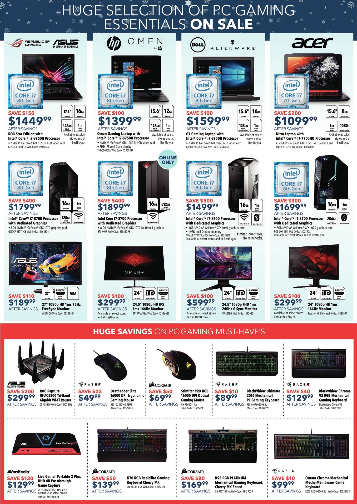 Best Buy Weekly Flyer Black Friday Sale Nov 23 29 Tape Automated Bonding Tab For Driver Circuits Lcds Oleds And Pdps
