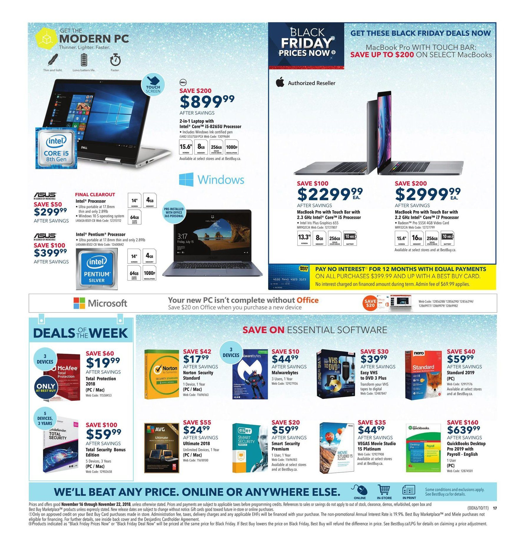 Best Buy Weekly Flyer - Weekly - Black Friday Prices Now