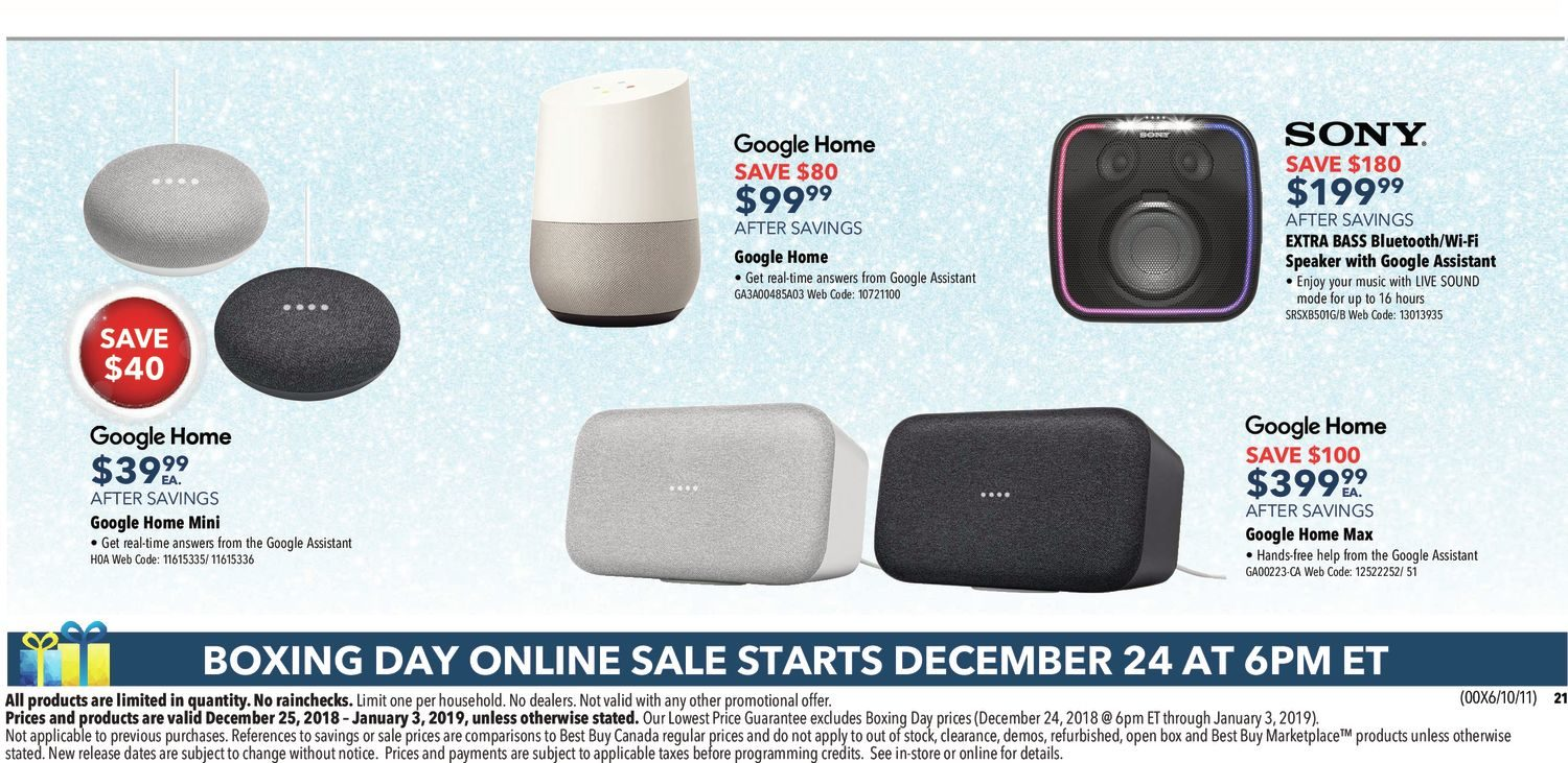 2b09847f555e Best Buy Weekly Flyer - Boxing Day Sale - Dec 25 – Jan 3 - RedFlagDeals.com