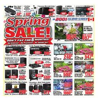 - Weekly - Spring Sale! Flyer