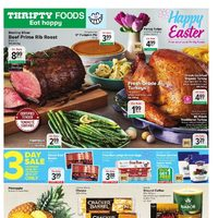 Thrifty Foods - Weekly Specials - Happy Easter Flyer