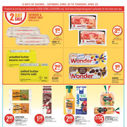 Shoppers Drug Mart - Fresh Food & Food Store Locations Only Flyer