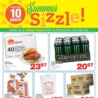 Wholesale Club - Summer Sizzle! Flyer