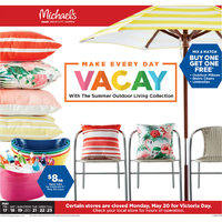 Michaels - Weekly - Make Every Day Vacay Flyer