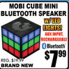Mobi Cube Mini Bluetooth Speaker