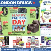 London Drugs - 6 Days of Savings - Happy Father's Day Flyer