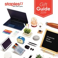 Staples - Gift Guide 2019 Flyer