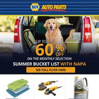 Napa Auto Parts - July Deals Flyer