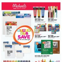 Michaels - Weekly - Stock Up & Save Flyer