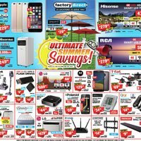 Factory Direct - Ultimate Summer Savings! Flyer